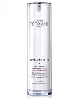 Teoxane advanced filler дермо-реструктуриращ крем против бръчки, подходящ за нормален към смесен тип кожа 50мл